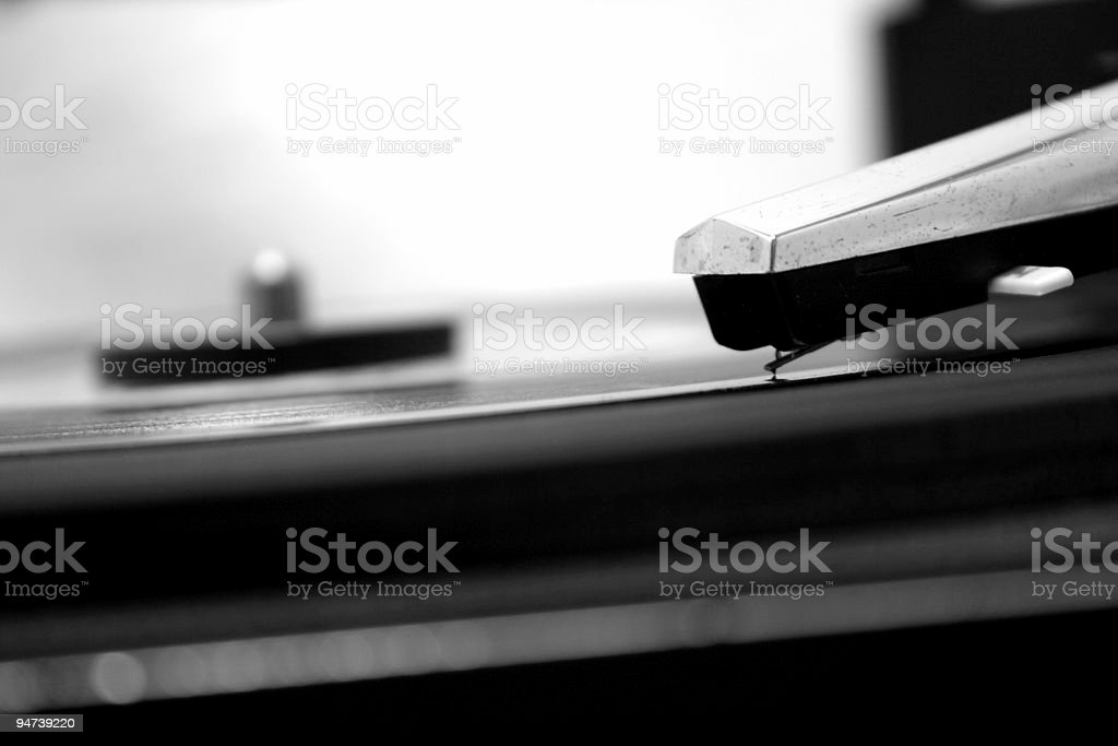 Retro LP! royalty-free stock photo