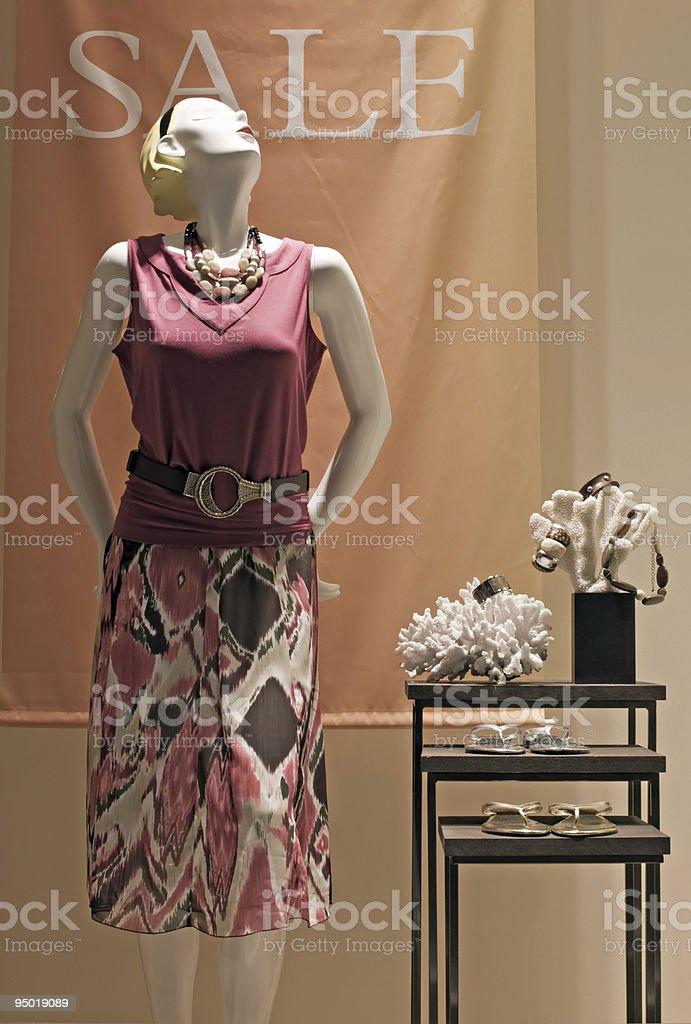 Retro Mannequin royalty-free stock photo