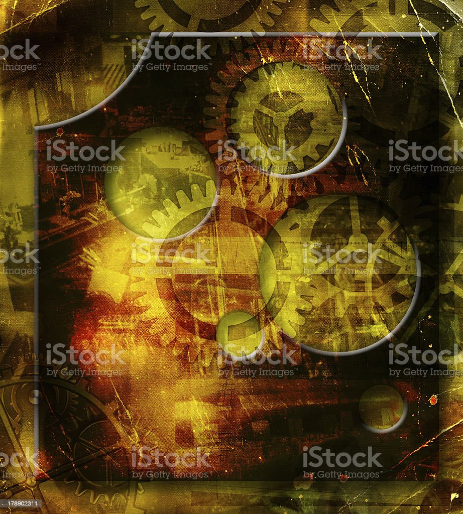 retro mechanism royalty-free stock photo