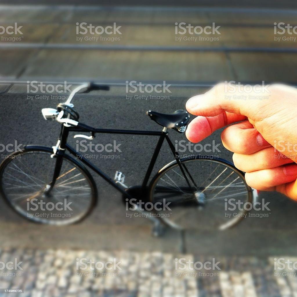 Retro Miniature Bike - MobileStock stock photo