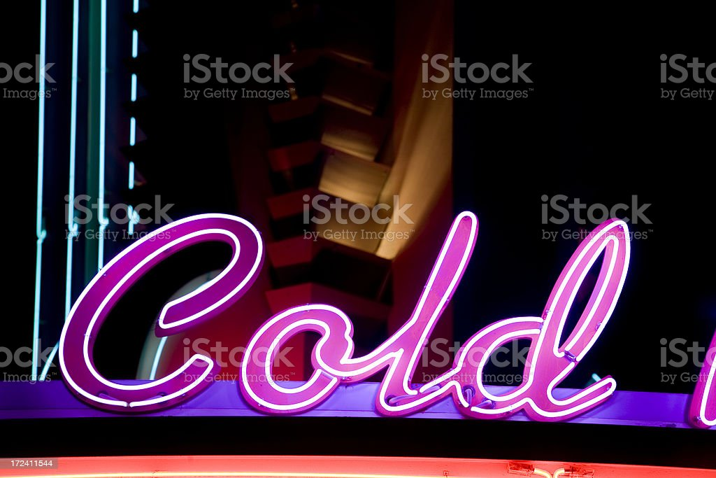 Retro Neon royalty-free stock photo
