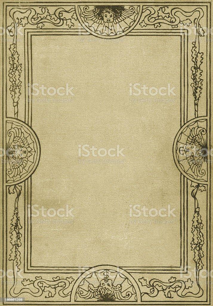 Retro Ornate Border Pattern royalty-free stock photo