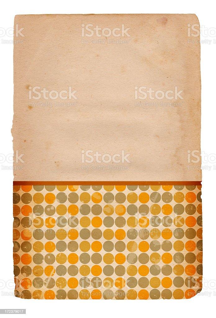 Retro Pattern Paper XXXL royalty-free stock photo