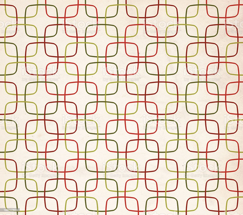 Retro Patterned Background - XXL royalty-free stock photo