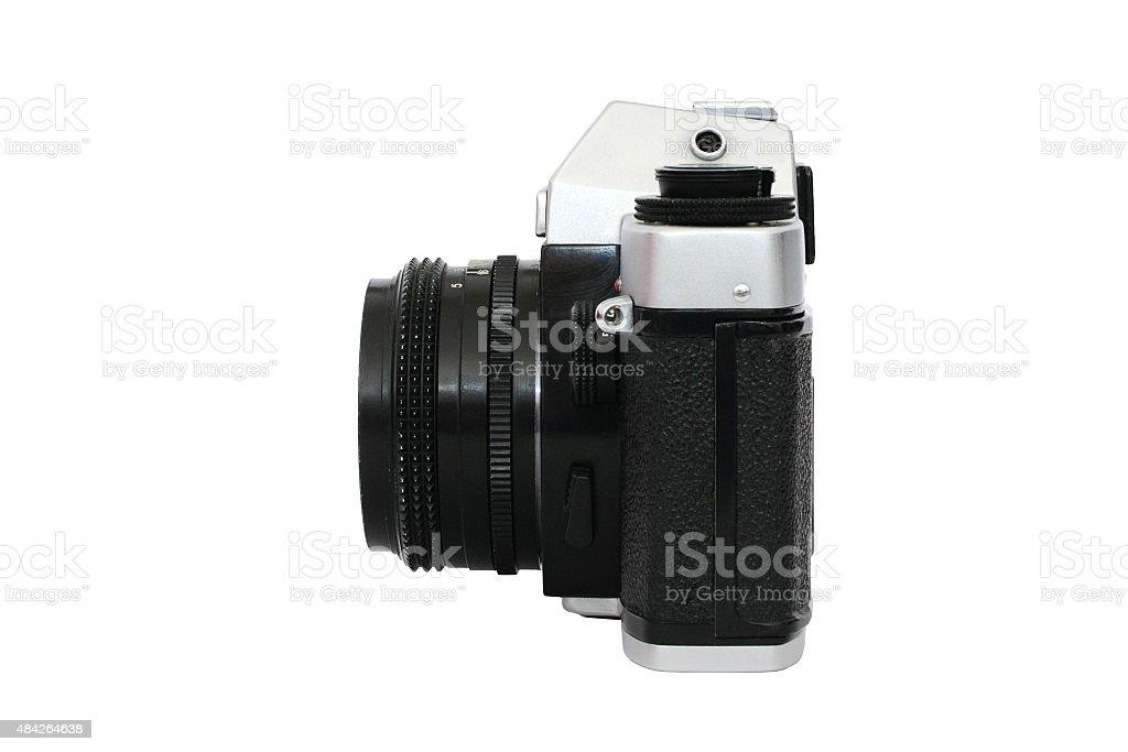 Foto de cámara Retro contorno foto de stock libre de derechos
