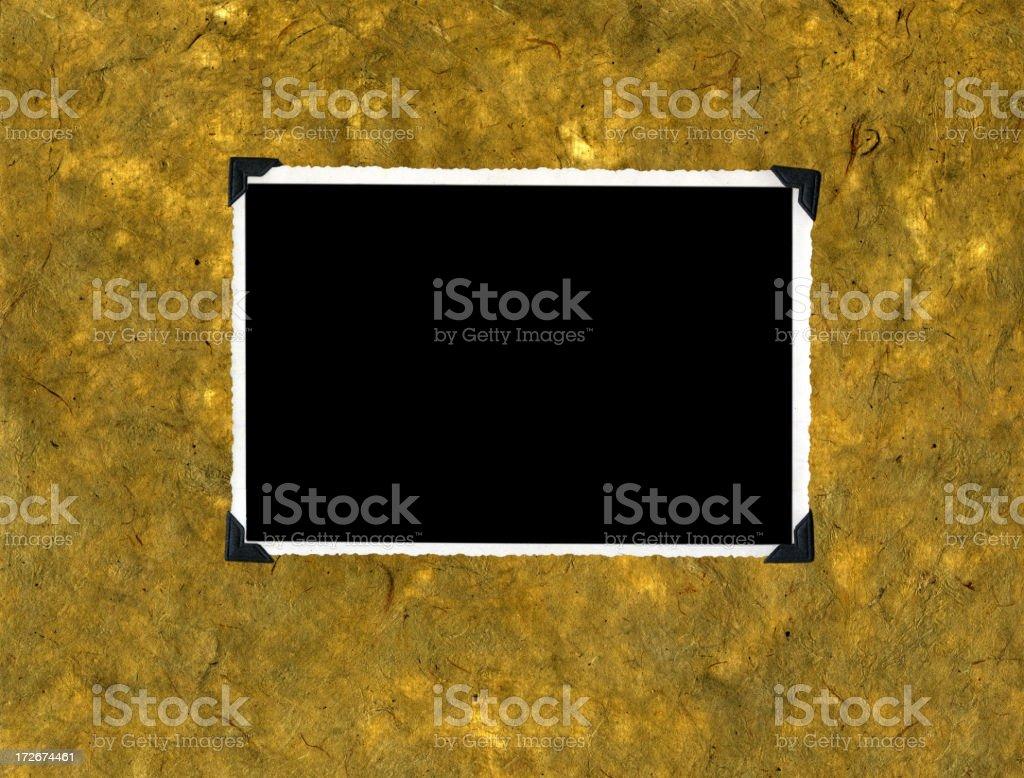 retro photo frame stock photo