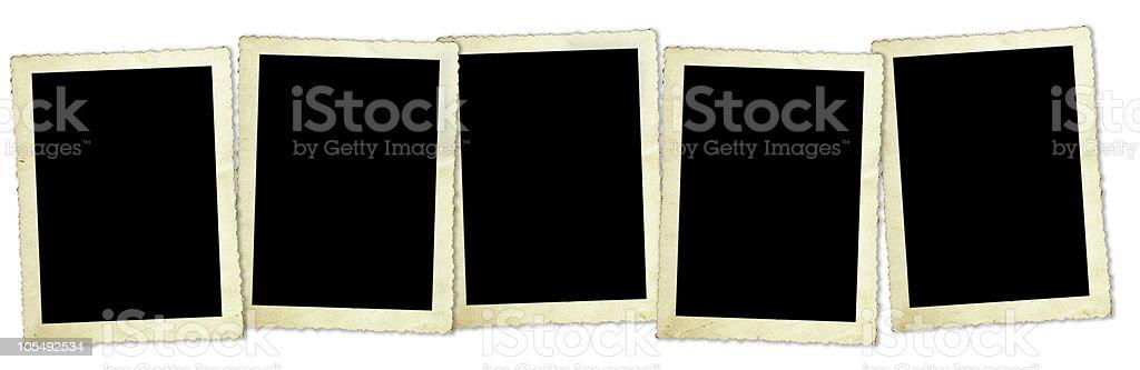 Retro Photo Frames royalty-free stock photo