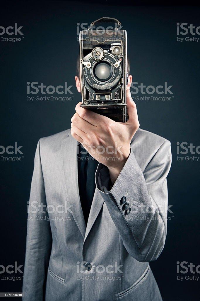 Retro Fotograf zbiór zdjęć royalty-free