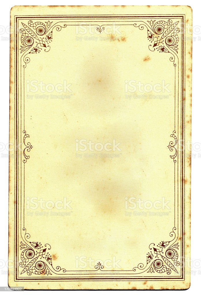 Retro picture frame royalty-free stock photo