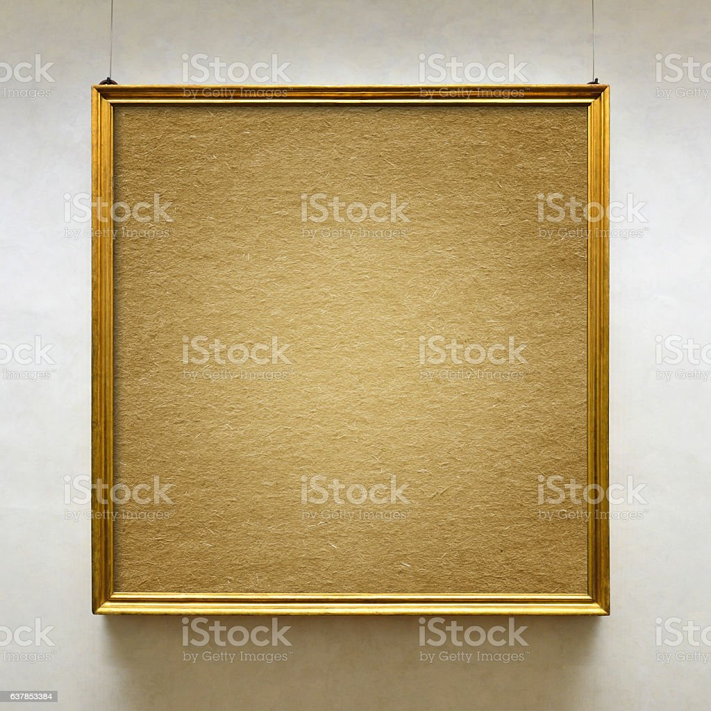 Retro Picture Frame stock photo