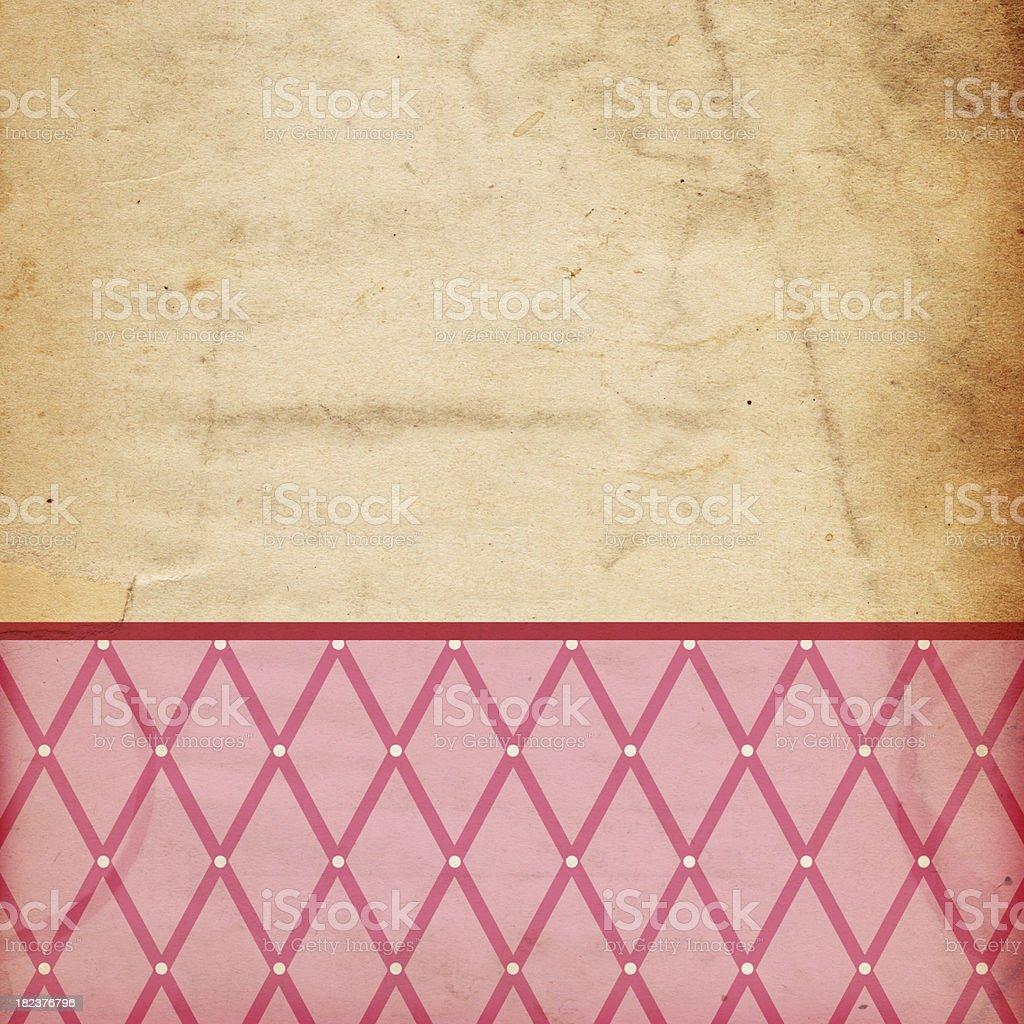 Retro Pink Valentine Background (XXXL) royalty-free stock photo