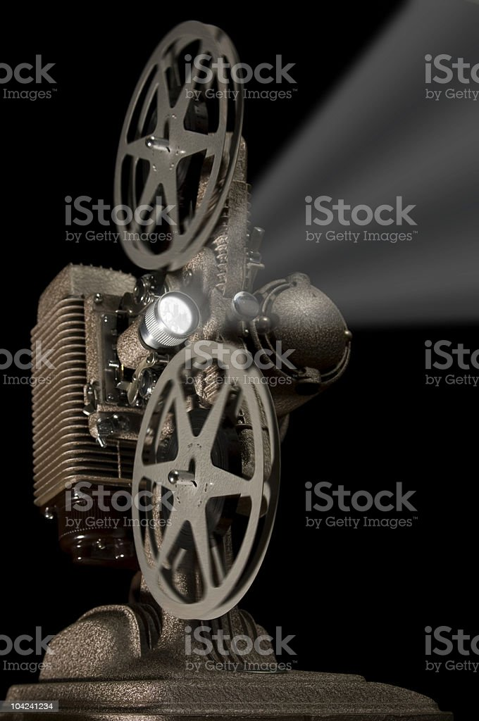 Retro Projector stock photo