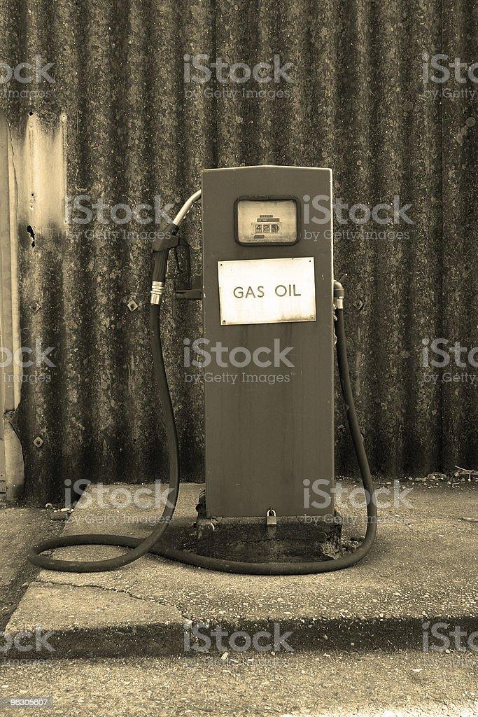 Retro Pump royalty-free stock photo