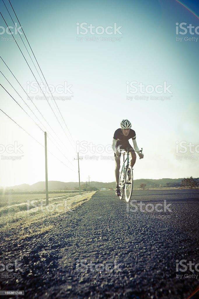 Retro racer royalty-free stock photo
