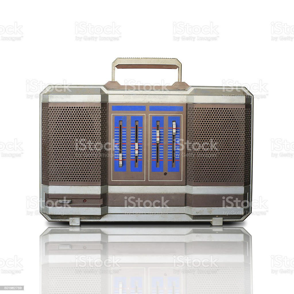 Retro recorder royalty-free stock photo