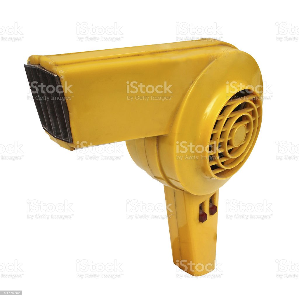 Retro revival hair dryer royalty-free stock photo