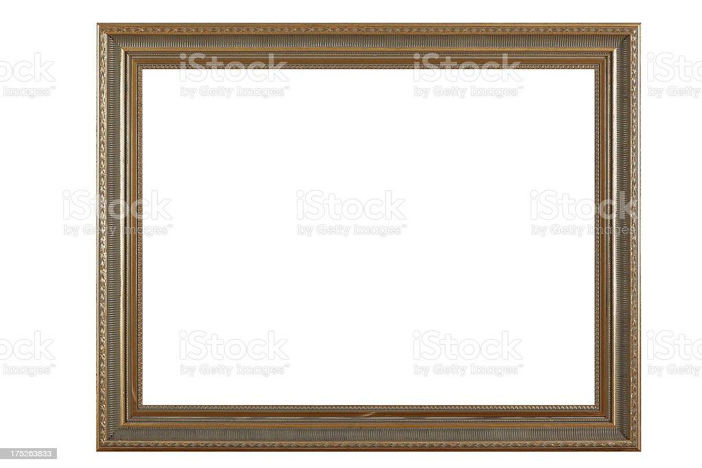 Retro Revival Old Frame royalty-free stock photo