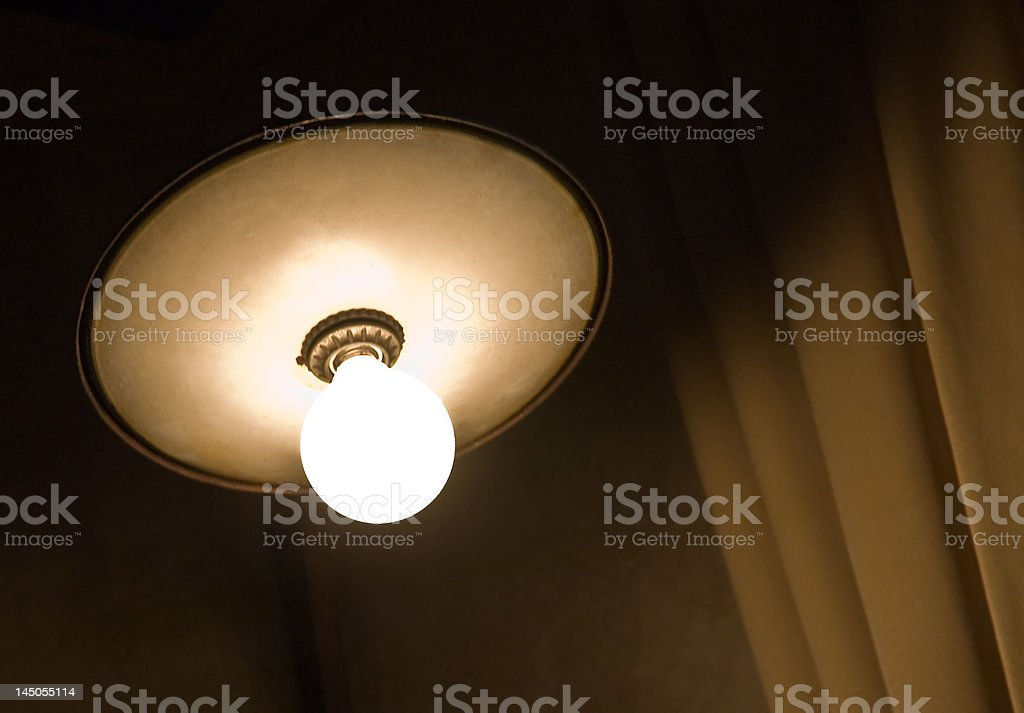 Retro roof lamp royalty-free stock photo
