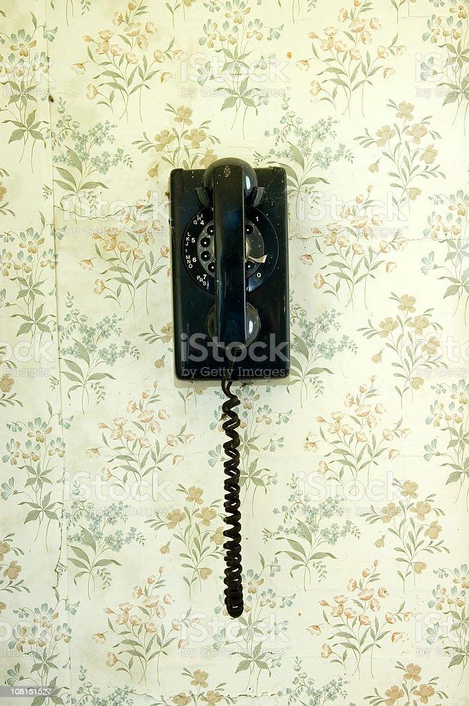 Retro Rotary Telephone royalty-free stock photo
