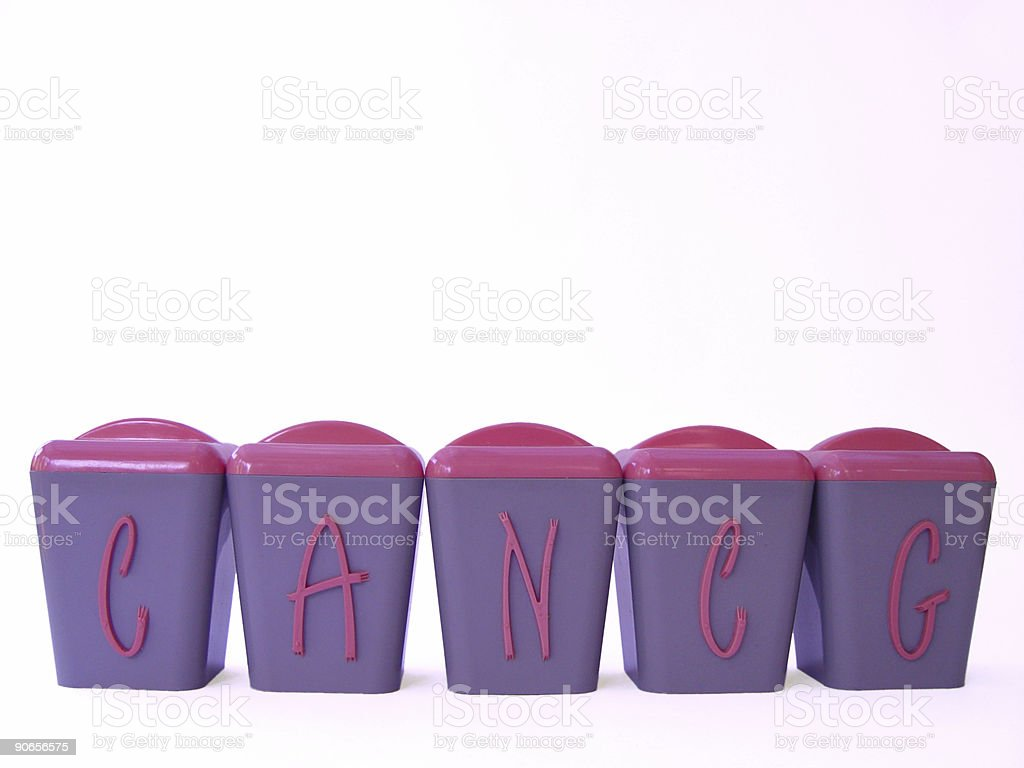 Retro spice canister royalty-free stock photo