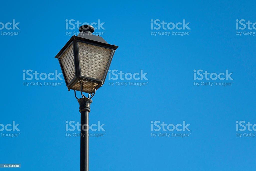 Retro Streetlight stock photo