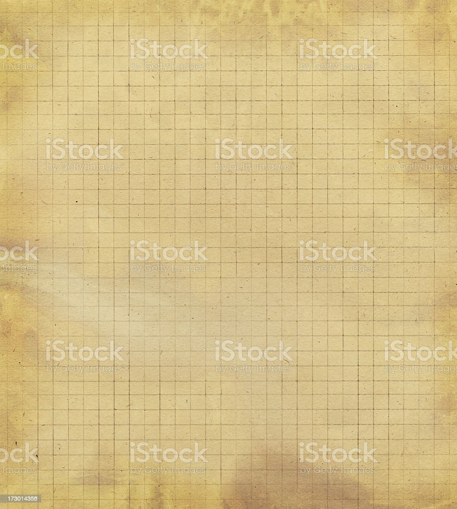 retro style graph paper royalty-free stock photo