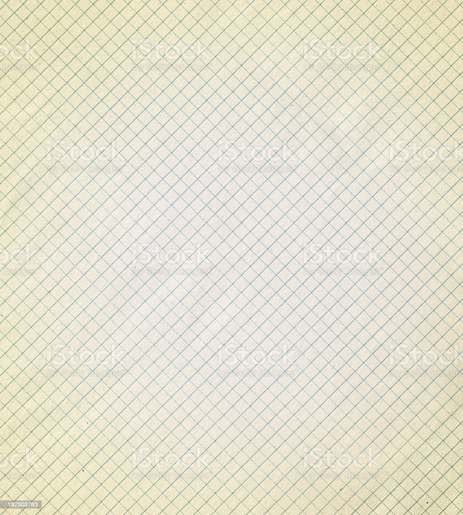 retro style grid paper royalty-free stock photo