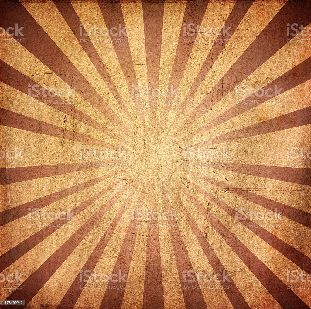 Retro sunburst style grunge background royalty-free stock photo