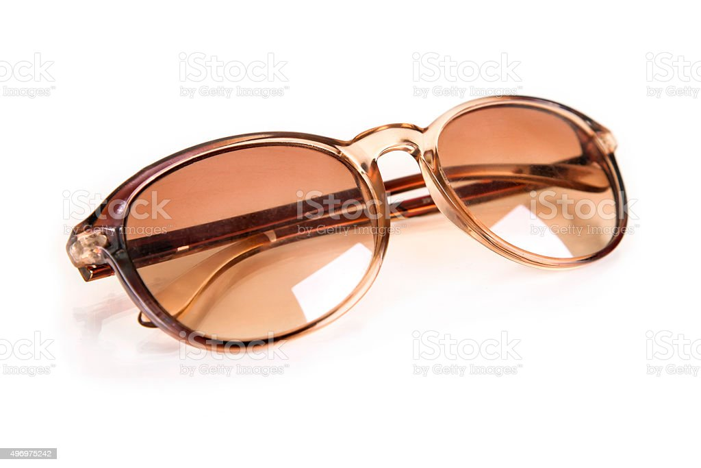 Retro sunglasses stock photo