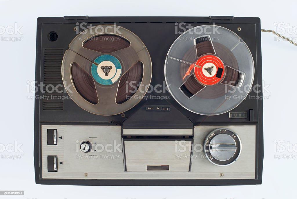Retro tape stock photo