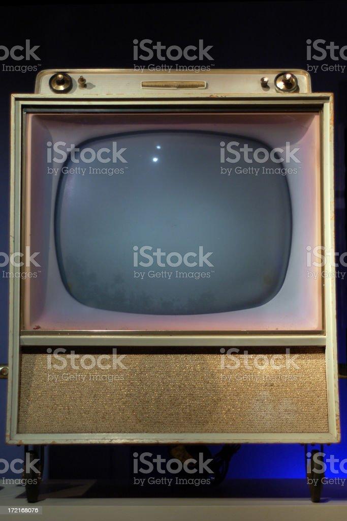 Retro television royalty-free stock photo