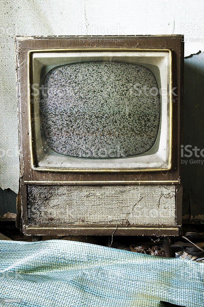 Retro Television stock photo