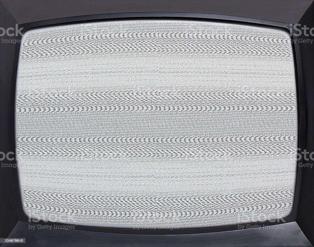 Retro television screen stock photo