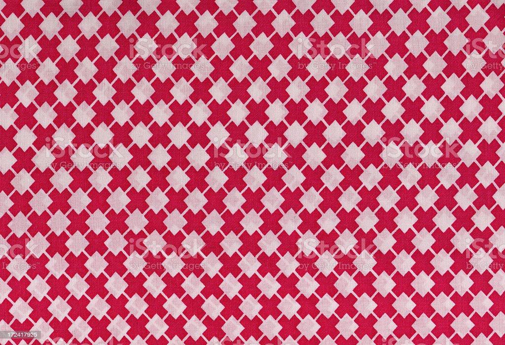 retro texture original 1950 XXL red cross royalty-free stock photo