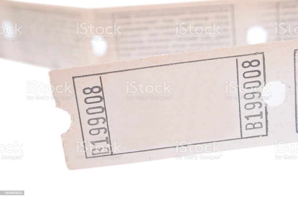 Retro tickets royalty-free stock photo