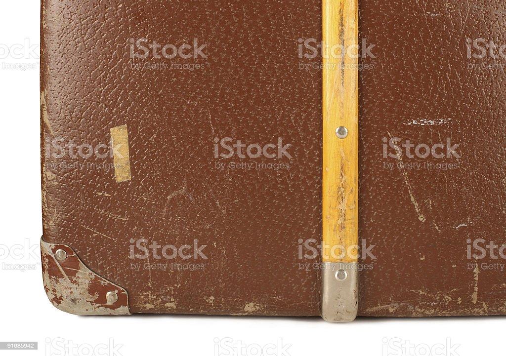 Retro travel luggage royalty-free stock photo