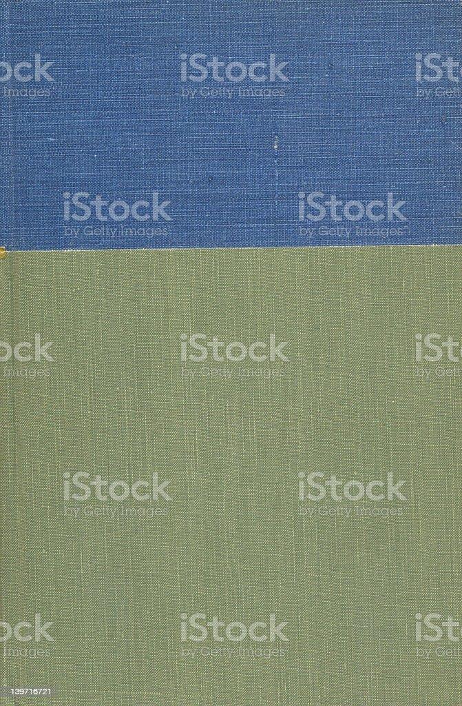 Rétro deux couleur Couverture de livre photo libre de droits