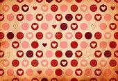 Retro Valentine's Paper XXXL