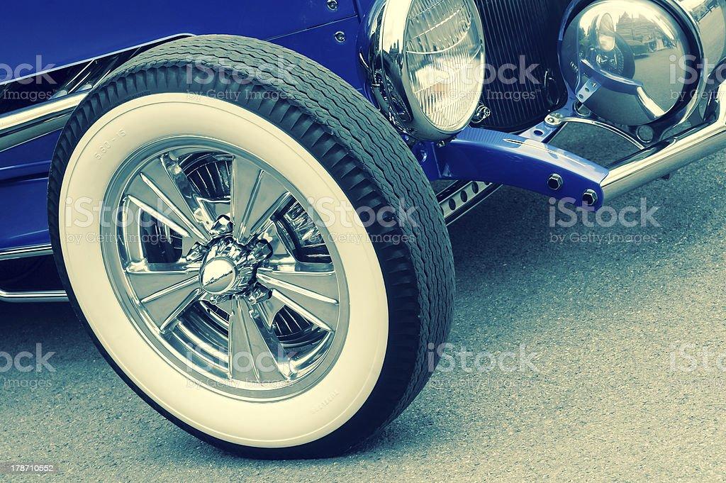 retro vehicle stock photo