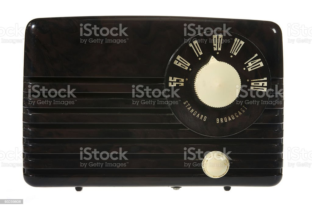 Retro Vintage Radio royalty-free stock photo