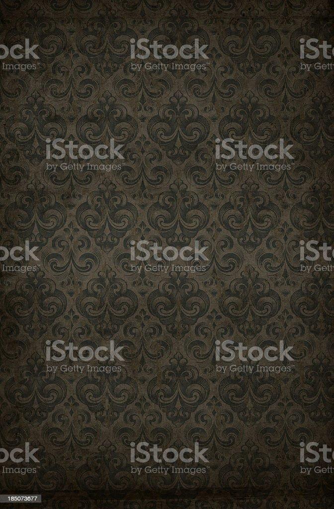 Retro wallpaper background stock photo