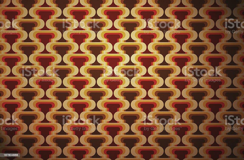 Retro wallpaper stock photo