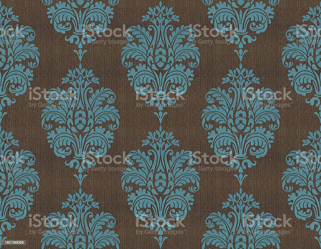 Retro Wallpaper seamless royalty-free stock photo