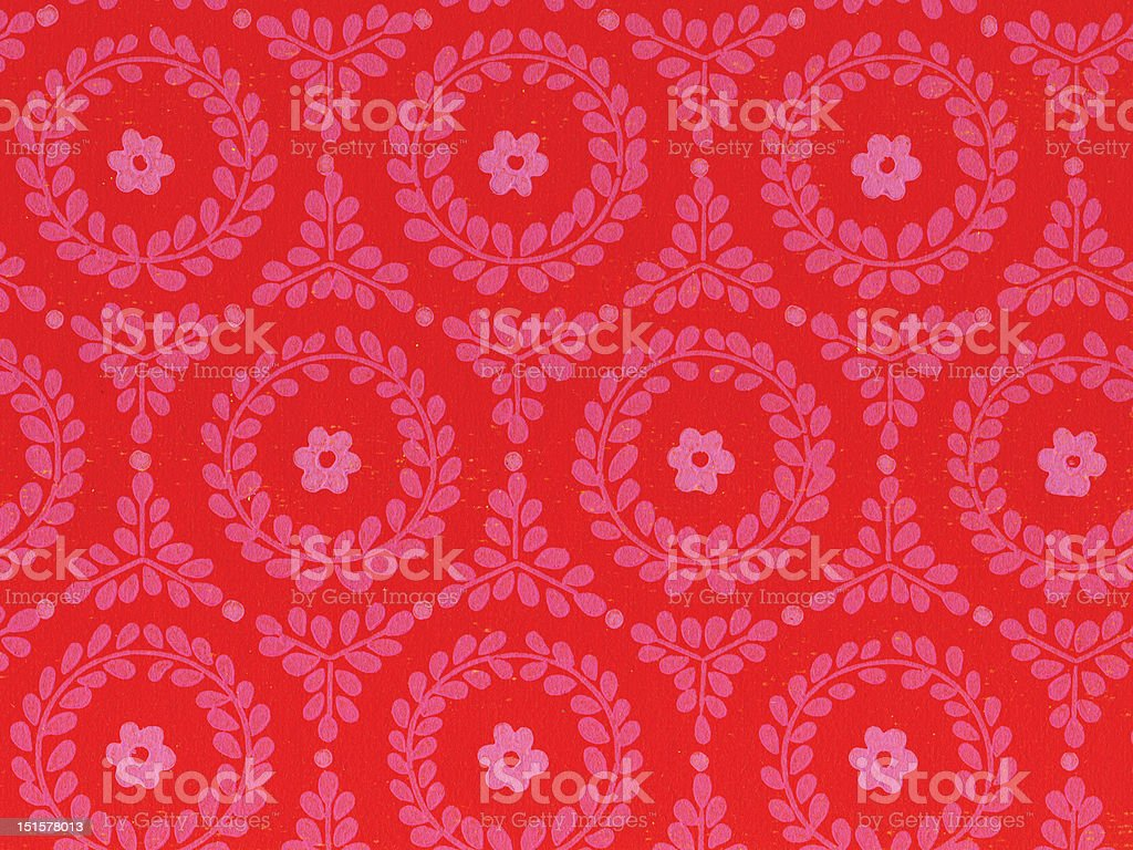 retro wallpaper texture 1970 original XXXXL royalty-free stock photo