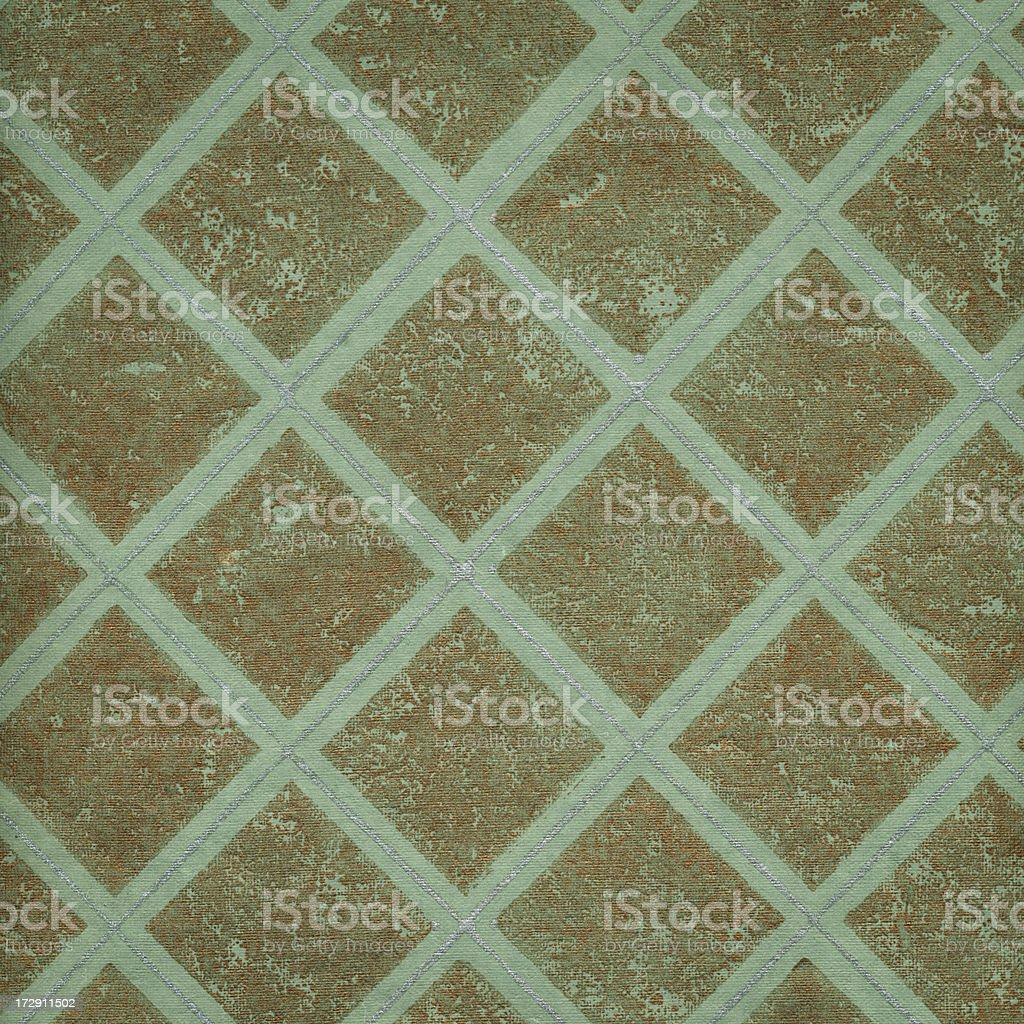 retro wallpaper with metallic effect royalty-free stock photo