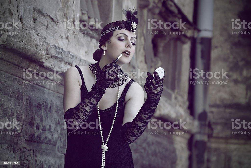 Retro Woman 1920s - 1930s stock photo