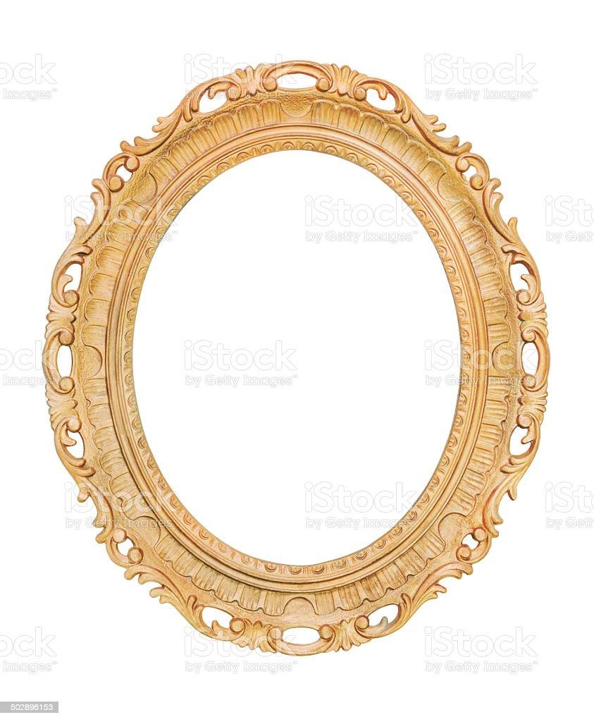 retro wooden frame stock photo