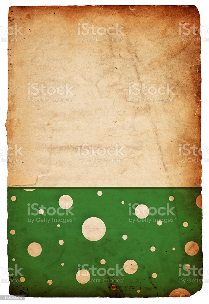 Retro Wrapping Paper XXXL royalty-free stock photo