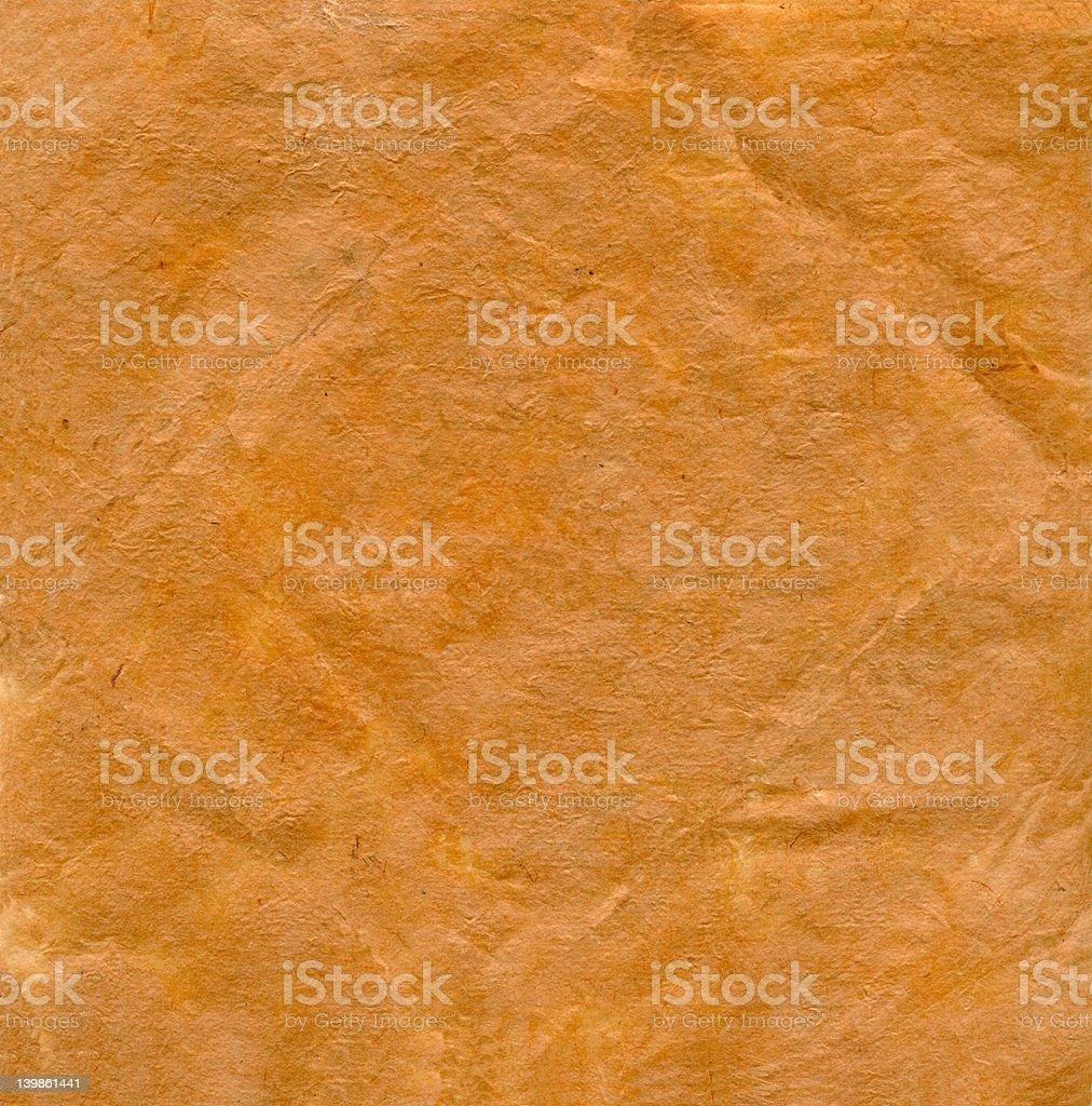 Texture de papier jaune rétro photo libre de droits