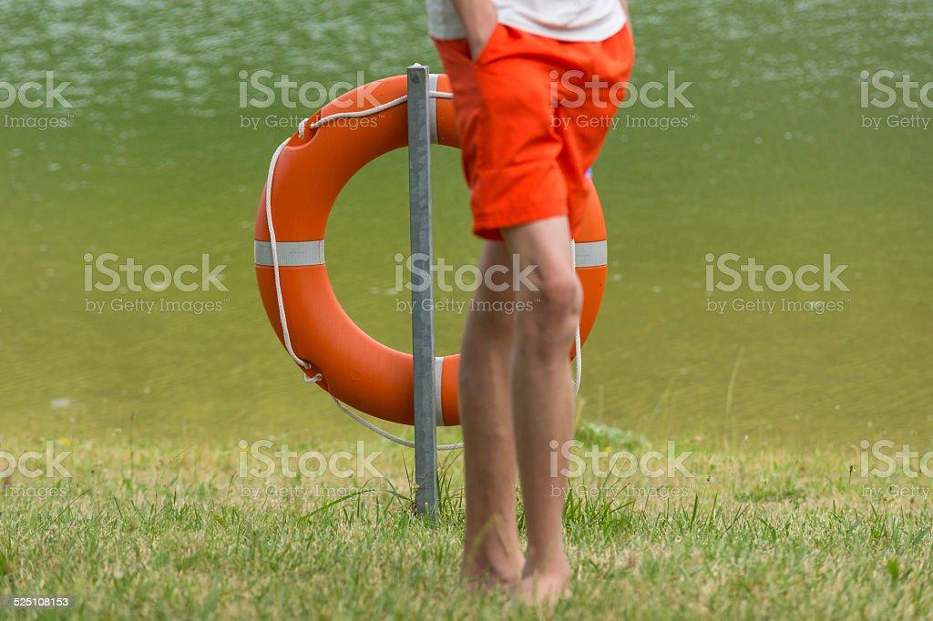 Rettungsring stock photo